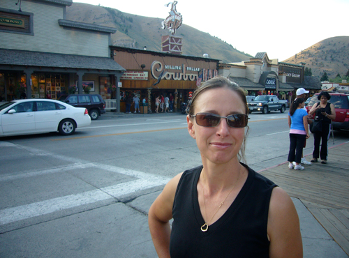 Alex in Jackson Hole