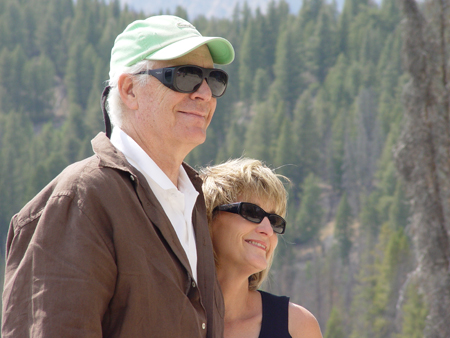 Ned and Susie Maguire at Redfish Lake