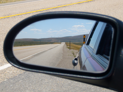 Sideview mirror view